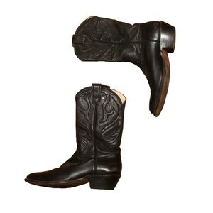 Vintage Men's 1977 Stewart Co. Cowboy Boots 11
